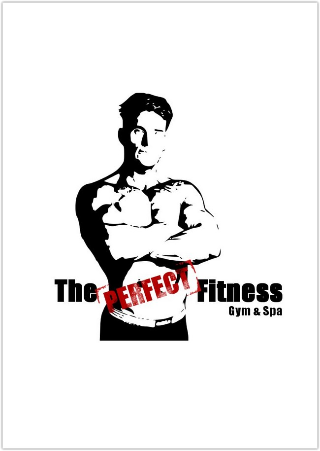Perfect Fitness Banner Logo