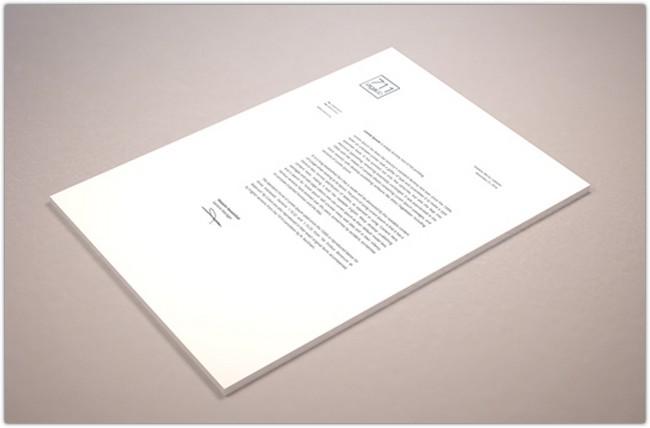Perspective Letterhead Mockup (Psd – Smart Object)