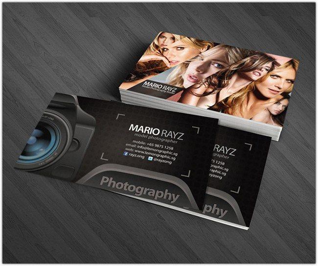 Photographer Corporate Business Card