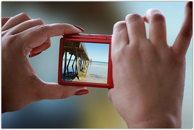 Photorealistic Camera PSD Mockups