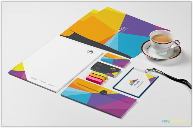 Photorealistic Stationery Branding Psd Mockups