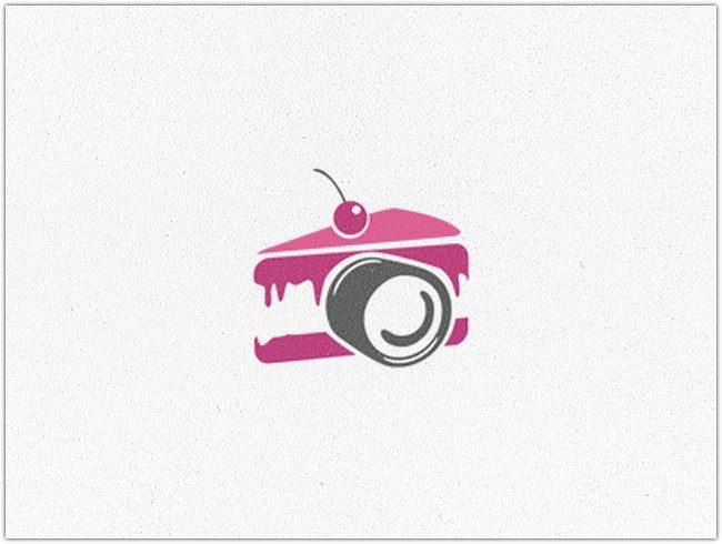 Picofcake logo mark