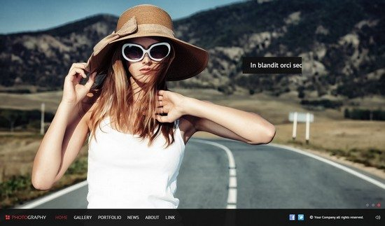 Pinetree - Photography HTML5 Template