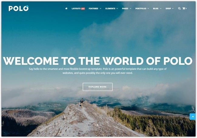 Parallax HTML5 Template