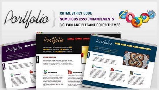 Portfolio – HTML Template