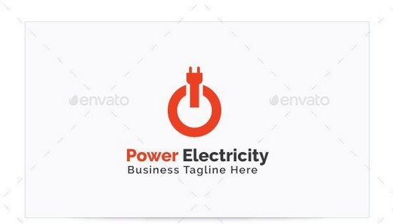 Power Electricity Logo