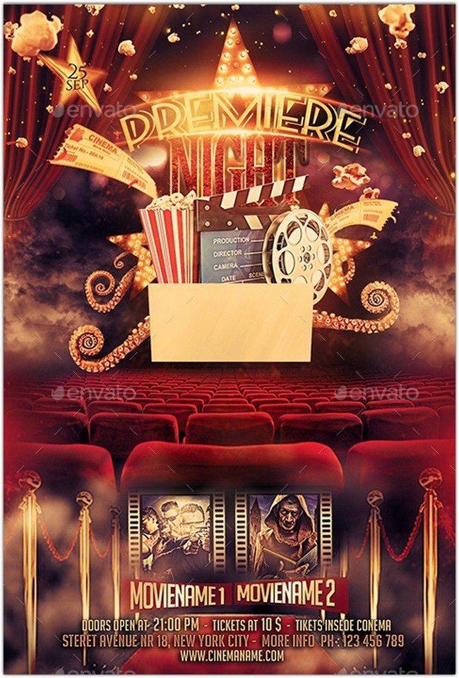 Premiere Movie Flyer Bundle