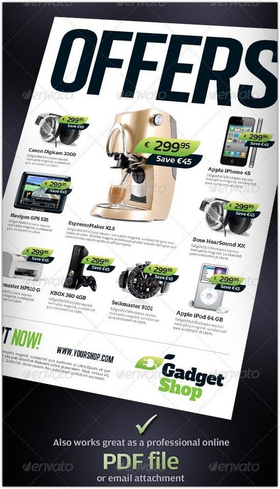 Product Flyers Ads