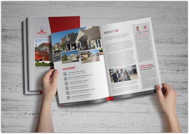 Property Real Estate Brochure Catalog