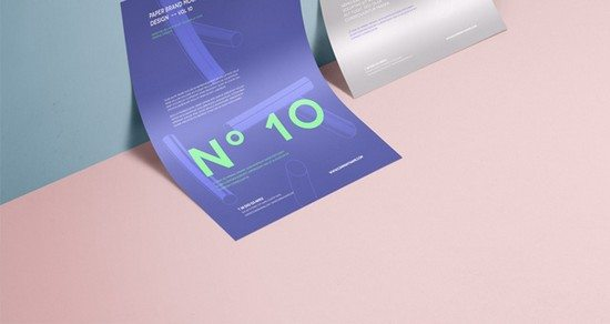 Psd A4 Paper Mock-Up Vol10