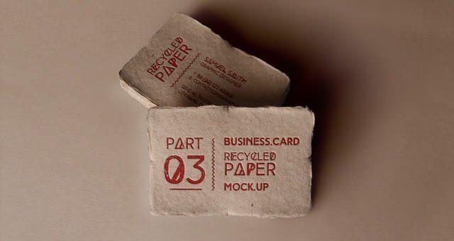 Psd Business Card Mock-Up Vol16 v3