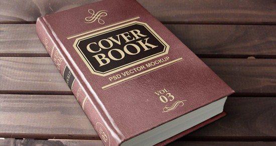 Psd-Hardback-Book-Mockup-Template