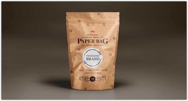 Psd Paper Bag Mock-Up Template Vol2