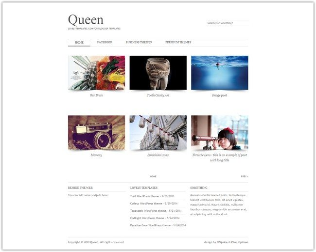 Queen Blogger Template