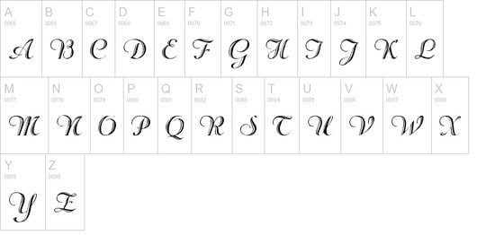 Rechtman Fonts