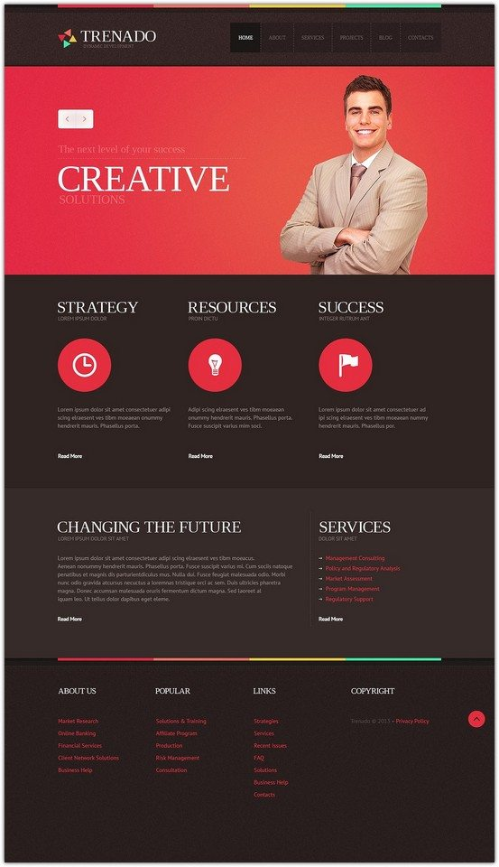 Responsive Advertising Agency Joomla Template