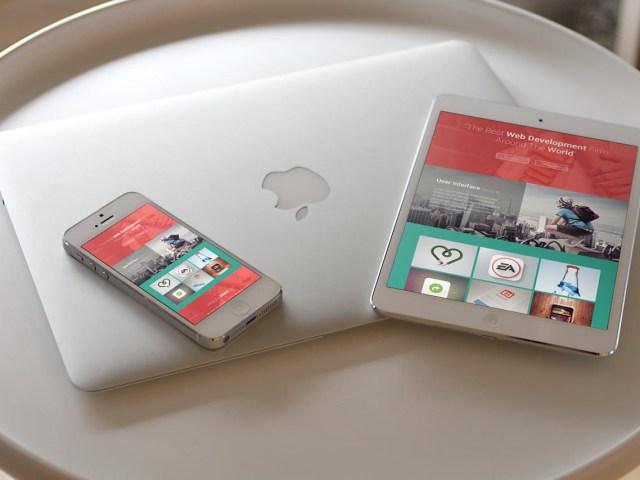 Responsive Devices iPad & iPhone