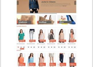 Clothes Fashion Opencart Theme