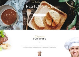 Restaurant & Cafe Joomla Template