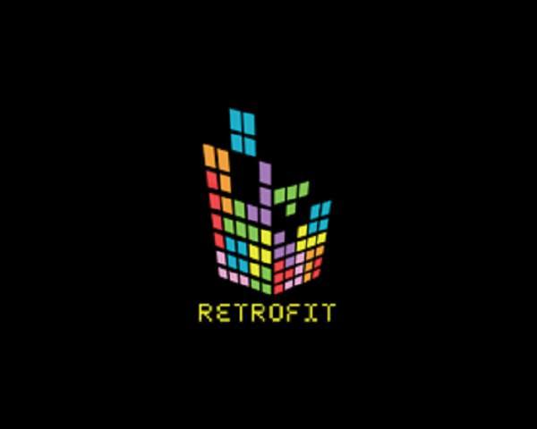 Retrofit Logo Design-214555