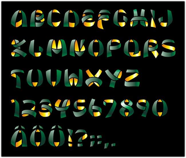 ribbon-free-font