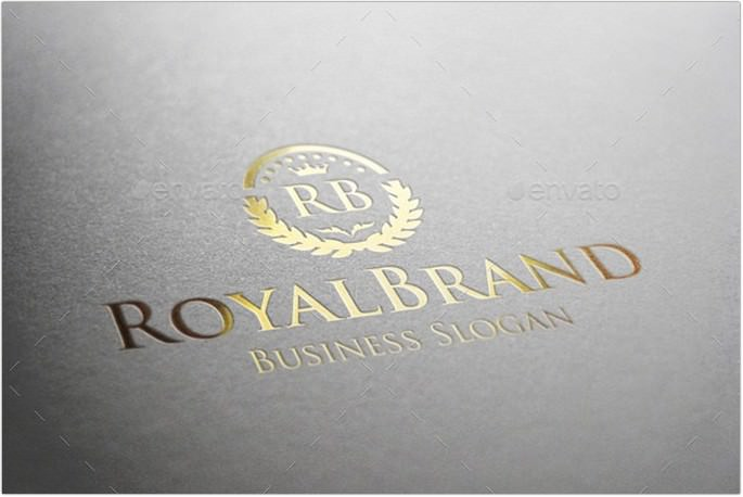 Royal Brand Fashion Boutique Logo
