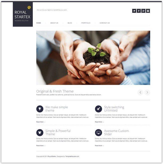 RoyalStartex - Minimalist Business HTML Template