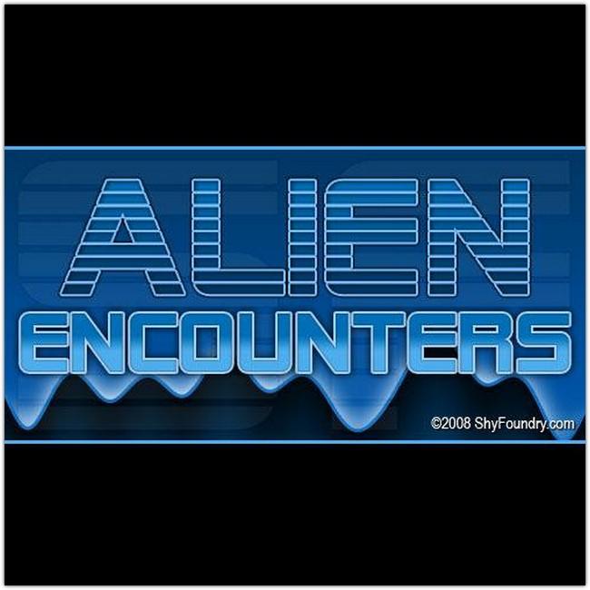 SF Alien Encounters font by ShyFoundry