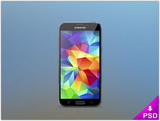 Samsung Galaxy S5 Mockup # 2