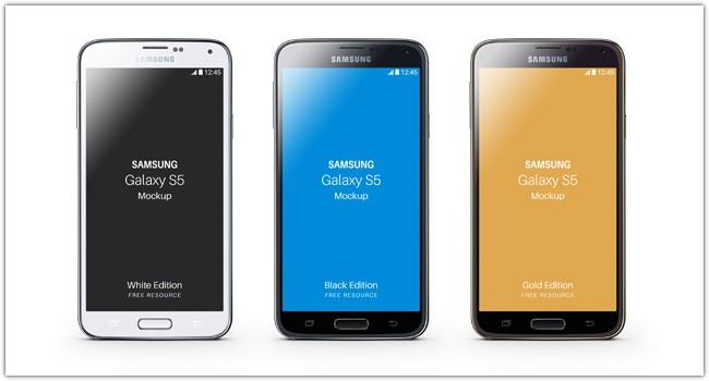 Samsung Galaxy S5 Psd Mockup # 3