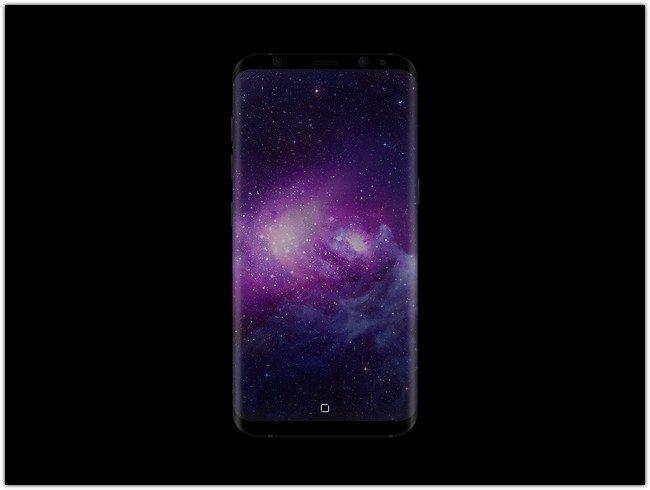 Samsung Galaxy S8 Mockup # 2