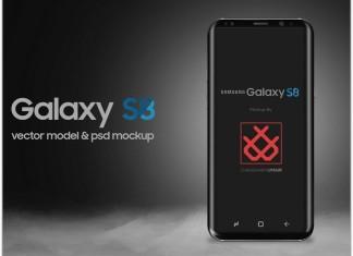 Galaxy S8 Mockup