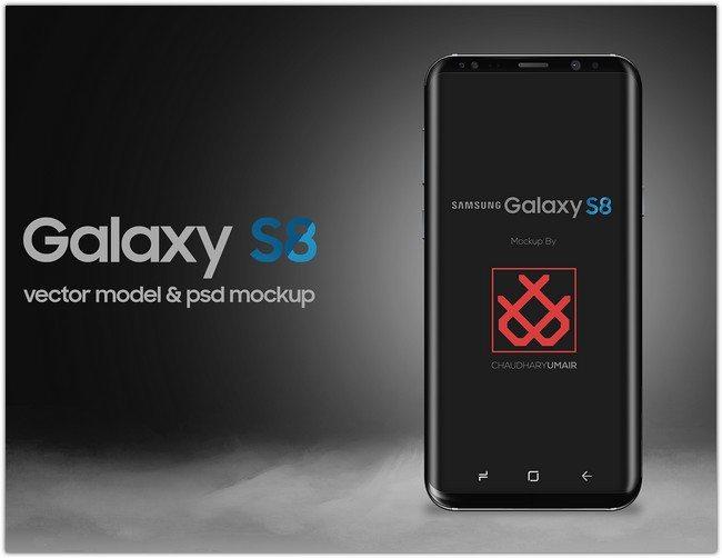 Samsung Galaxy S8 Mockup # 3