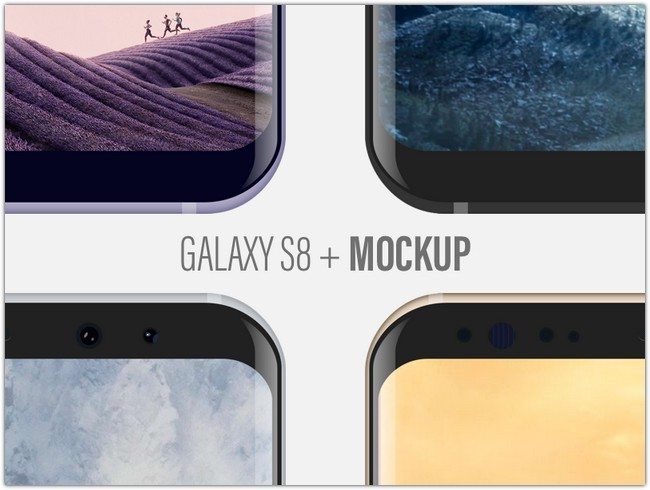Samsung Galaxy S8 + Mockup Giveaway