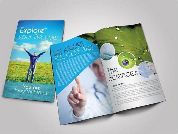 Scientific Medical Bifold Brochure
