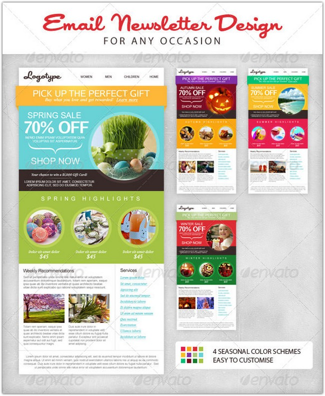 seasonal-email-newsletter-template