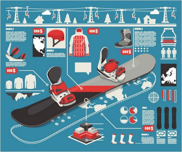 Set Of Economy Elements Infographics 20Design Vector