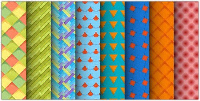 Set of Material Design Patterns