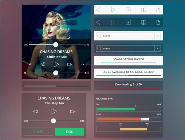 Shapes Mobile UI Kit