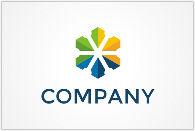 Shield Flower Logo