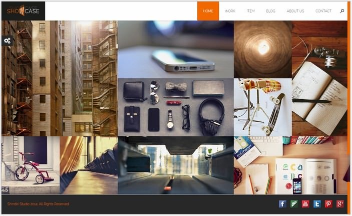 Showcase - Ajax / HTML Responsive Portfolio Theme for Freelancers, Studios and Agencies