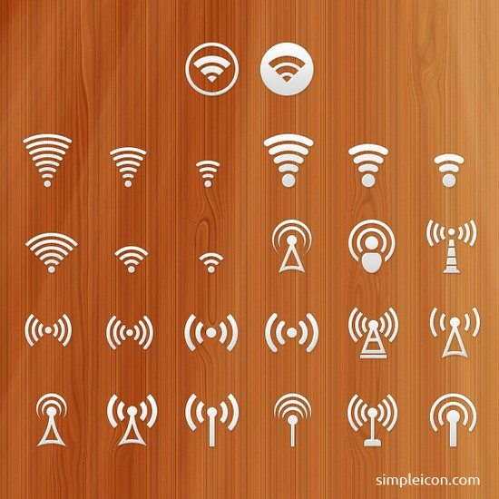 Signal PSD Icon Set