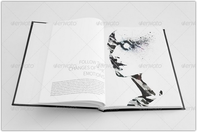 Sketch Book Mock-Ups Set 01