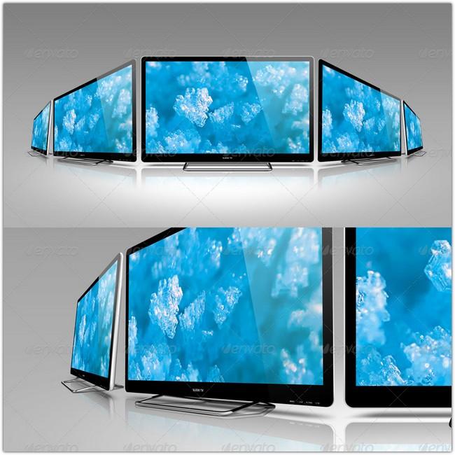 Sleek TV Mockup