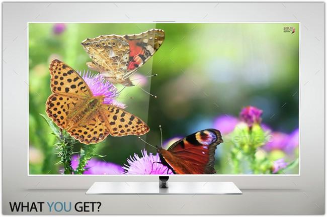 Smart Tv 60 inch F7000 Smart Evolution Mock Up