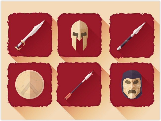 Spartan icons