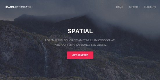Spatial - TEMPLATE