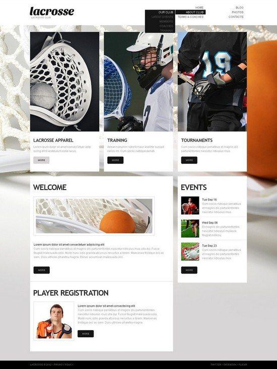 Sport WordPress Theme