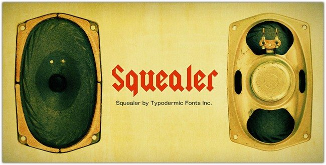 Squealer Font Family