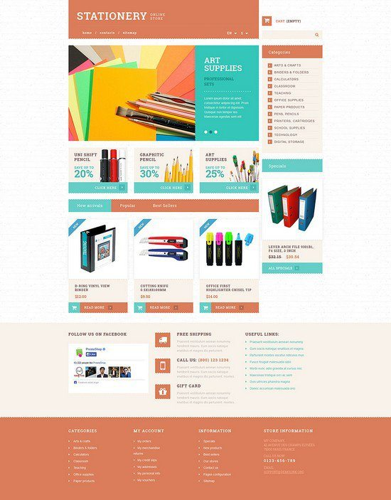 Stationery-and-Paper-PrestaShop-Theme